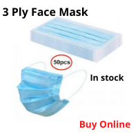3 Ply Face Mask - 50pcs
