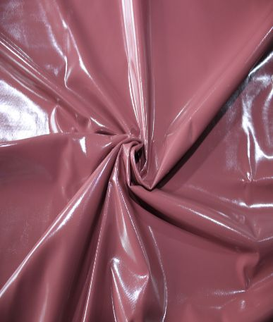 Hi Shine PU Fabric - Earth Tones - Dusty Pink