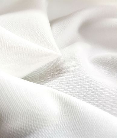 Irwell Canvas Digital Print Base Fabric - White