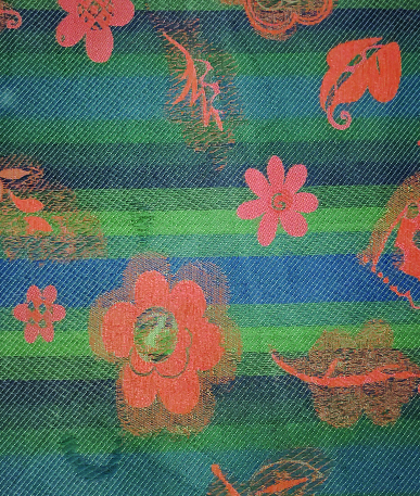 Crawford Upholstery Fabric - Green/Blue