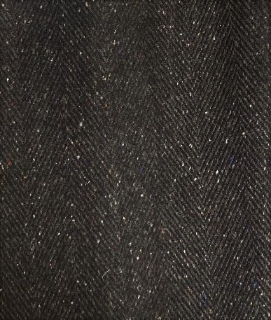 Herringbone Tweed - Black (1)