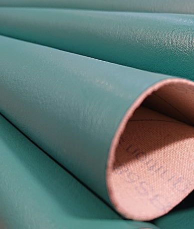 Just Colour Leatherette Fire retardant - Apple Mint
