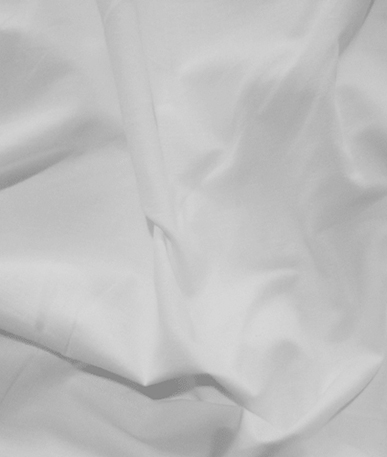 Plain Poly/Cotton Fabric - White