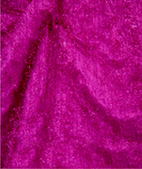 Tinsel Metallic Hair Fabric - Cerise (8)