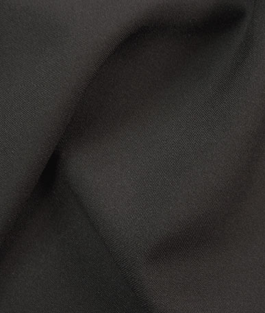 Fire Retardant Polyester Fabric - Black
