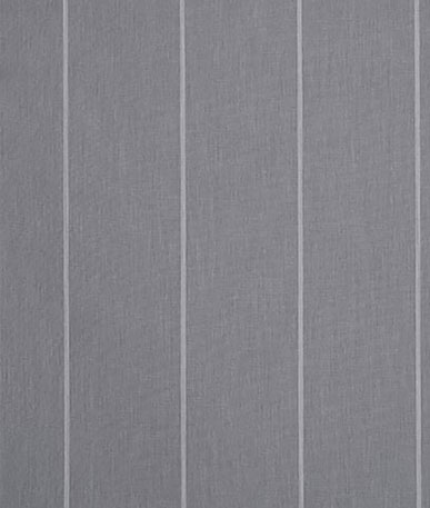 Naples Stripe Awning Fabric - Mid Grey (D113)