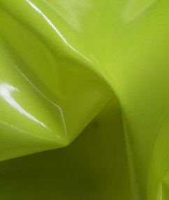 Fluorescent 600 Denier Nylon Fabric - Fluorescent Yellow