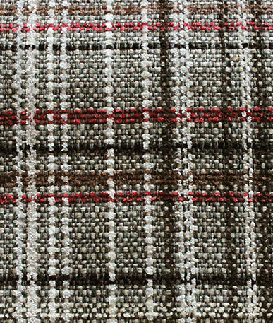 Lomond Check Tweed - Ash