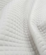 Mini Box Quilted Waterproof 4oz - White