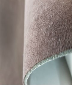 Suede Microfiber Seating Fabric - Black Cherry