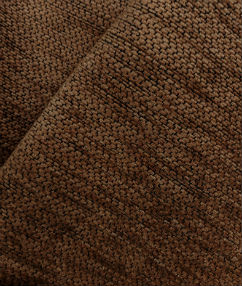 Chenille Weave Upholstery Fabric - Autumn Brown