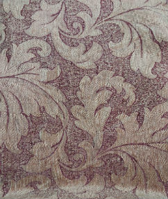 Large Leaf Upholstery Collection - Marsala