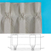 Rufflette Goblet Pleat Curtain Header Tape (1436610N)